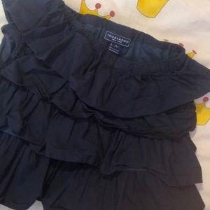 Toobydoo ruffled cotton skirt